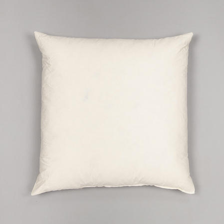 "26''X26"" 100% Cotton Cover Extra Filled Handmade Duck Feather Filled Cushion Thumbnail 2"