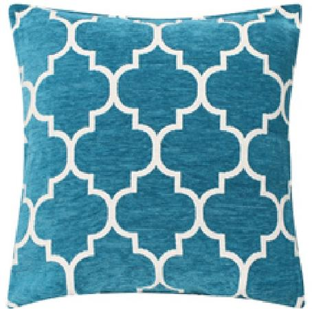 45cm x 45cm Luxury Chenille Embroidered Vibrant Cushions Thumbnail 2