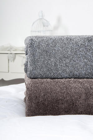 Two-Tone Plush Fleece Throws