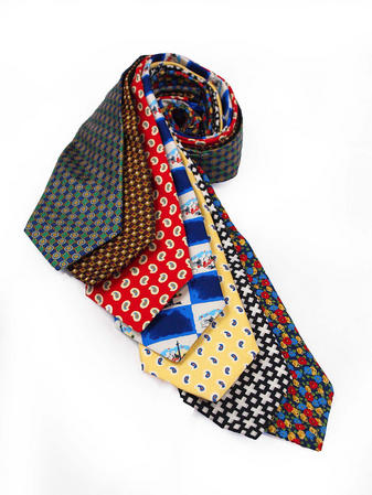 Cavenagh of London 7Piece 100% Pure Silk Ties Made in UK (102D)RRP£139.99 Thumbnail 1