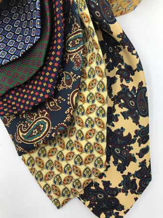 Cavenagh of London 7Piece 100% Pure Silk Ties Made in UK (618D)RRP£139.99 Thumbnail 2