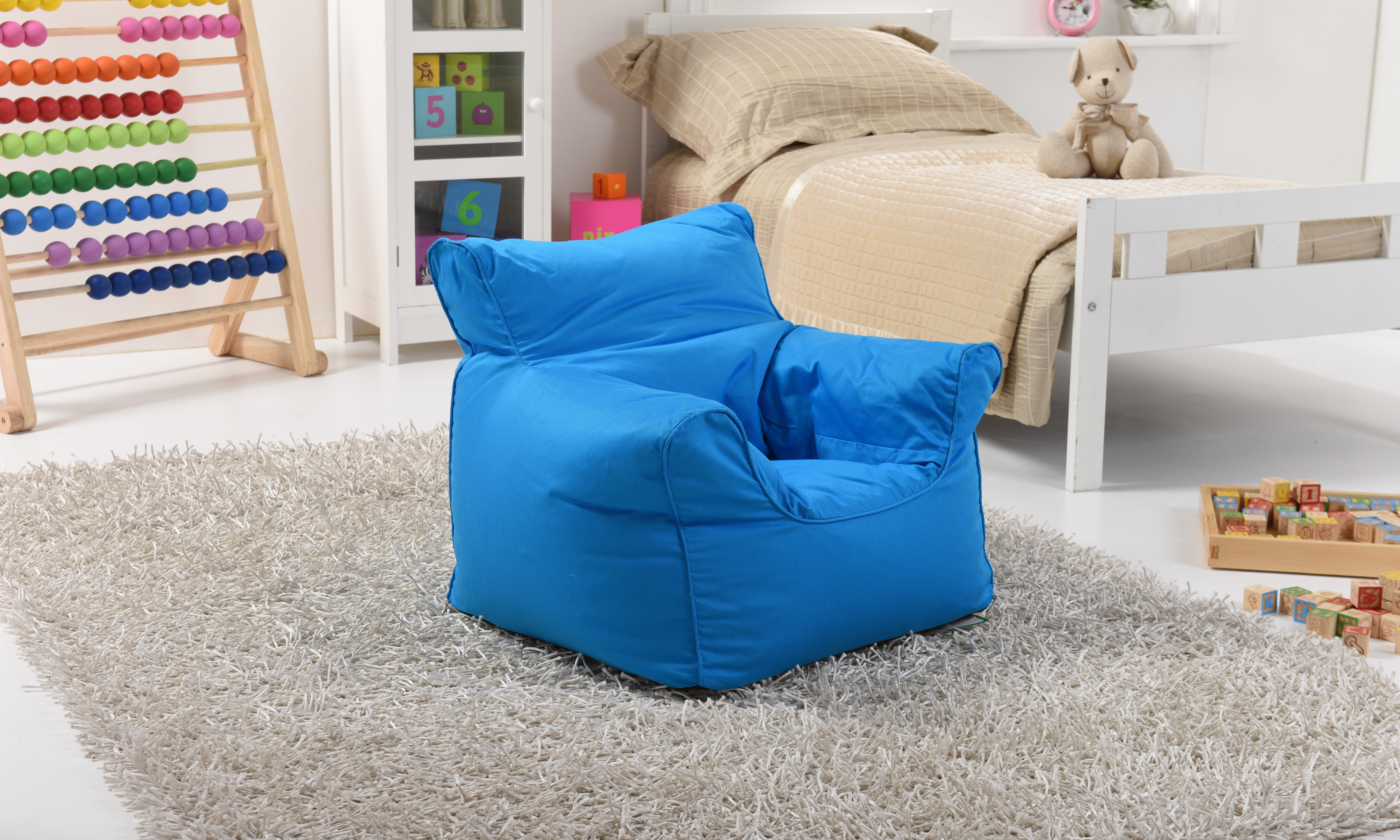 Lancashire Textiles Kids Mini Bean Bags Chairs for Boys and Girls