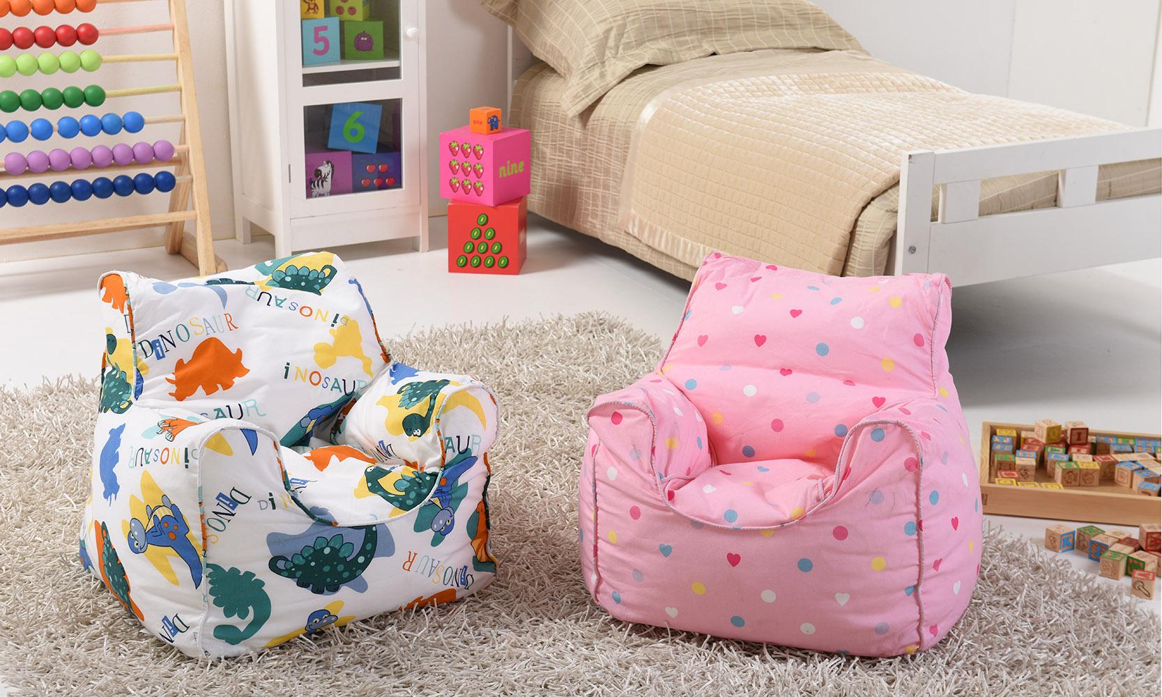 Lancashire Textiles Kids Mini Bean Bags Chairs For