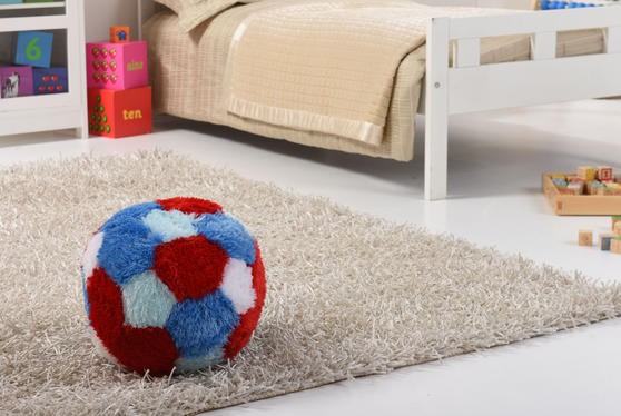 Kids Super Plush Fur-Ball Cushion/Pouffe