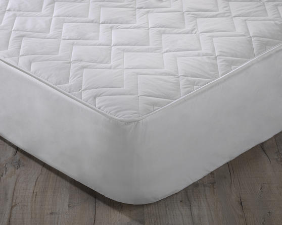 Quilted Pure Australian Wool Filled Mattress Protector