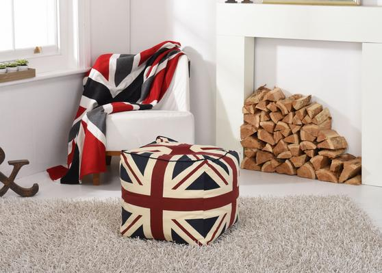 Union Jack Heavyweight Wool Throw/Blanket Thumbnail 2