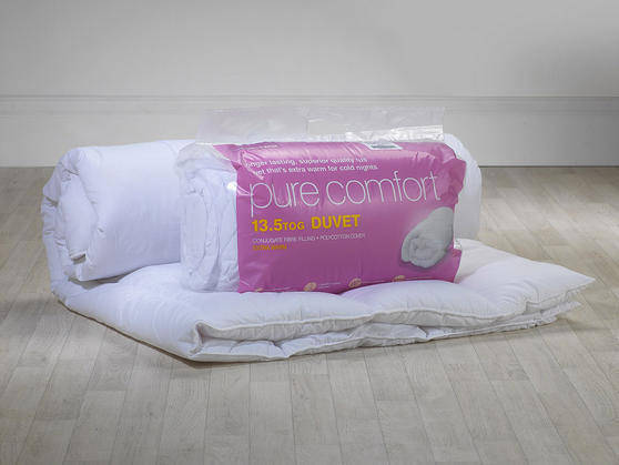 13.5 Tog - Hollowfibre Polycotton Duvet Thumbnail 2