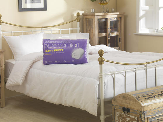 10.5 Tog - Luxury Super Soft Hollowfibre Filled Duvet Thumbnail 1