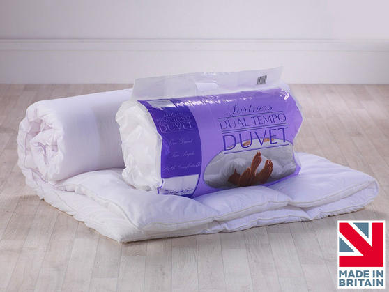 14 & 7 Tog - Luxury Dual Tog Temperature Balance Partner Couples Cosy Duvet
