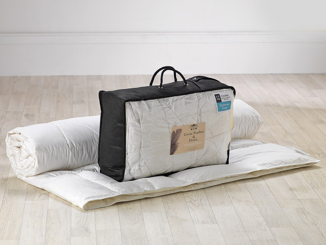 1.5 Tog - Goose Feather And Down Duvet