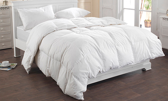 13.5 Tog - Duck Feather and Down Duvet