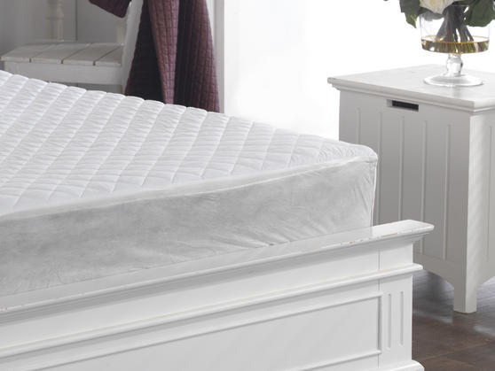 Polycotton Quilted Mattress Protector Thumbnail 2