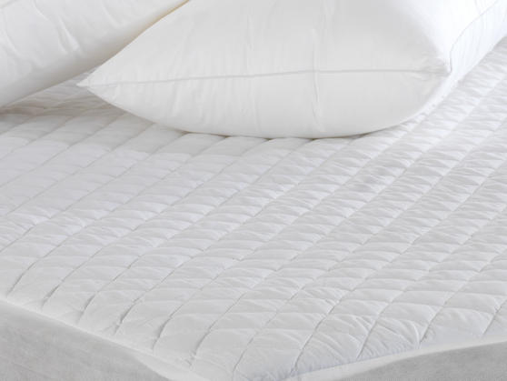 Polycotton Quilted Mattress Protector Thumbnail 3