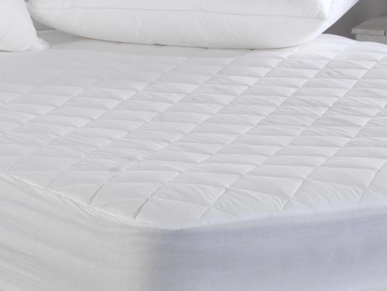 200 TC - Egyptian Cotton Mattress Protector with Deep Skirt Thumbnail 3