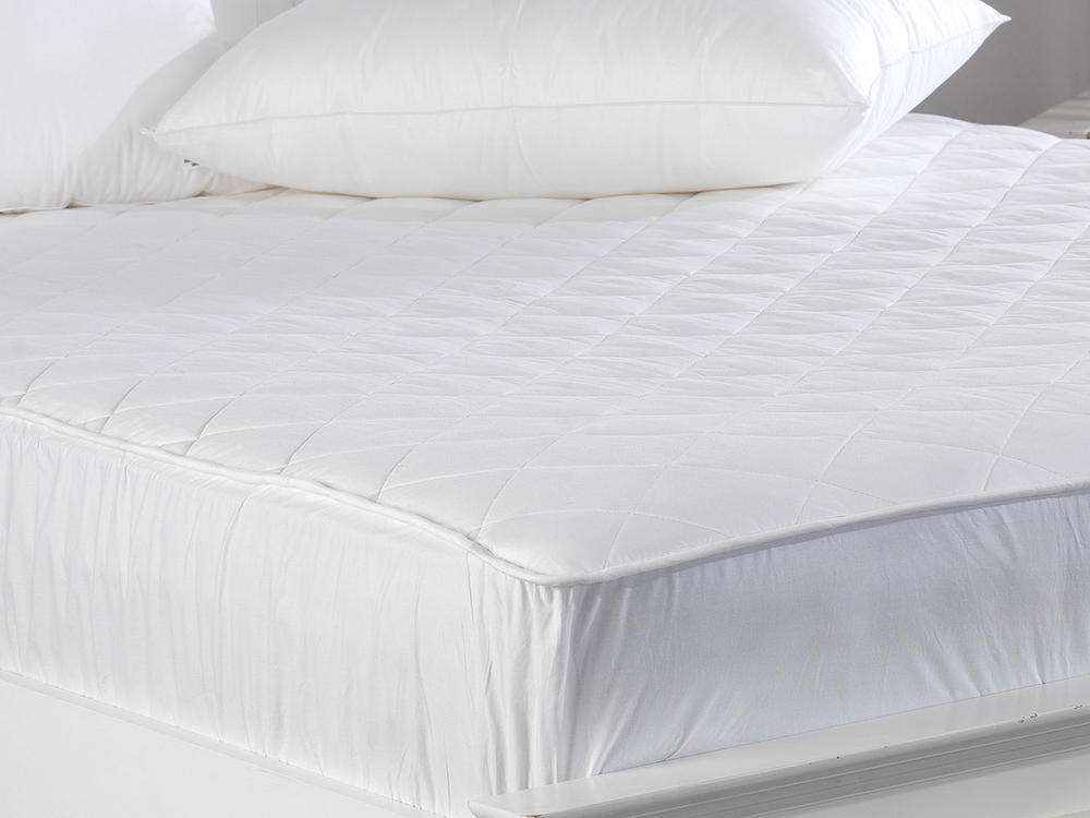 300 TC - Extra Thick, Quilted Cotton Mattress Protectors Thumbnail 2