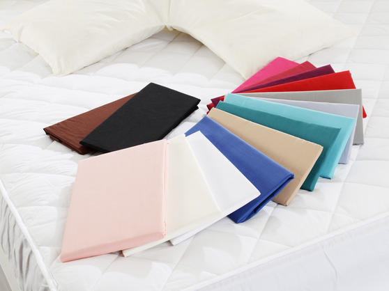 V Shape - Easy Care Polycotton Pillowcases in Various Colours Thumbnail 3