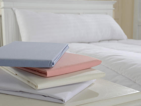 Polycotton Percale Bolster Pillow Cases  Thumbnail 1