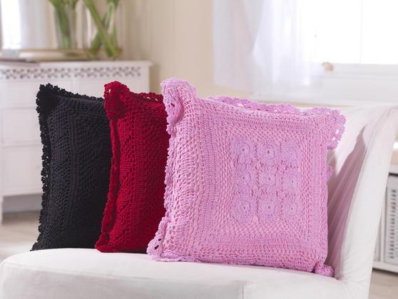 Crochet Knit Cushions  Thumbnail 1