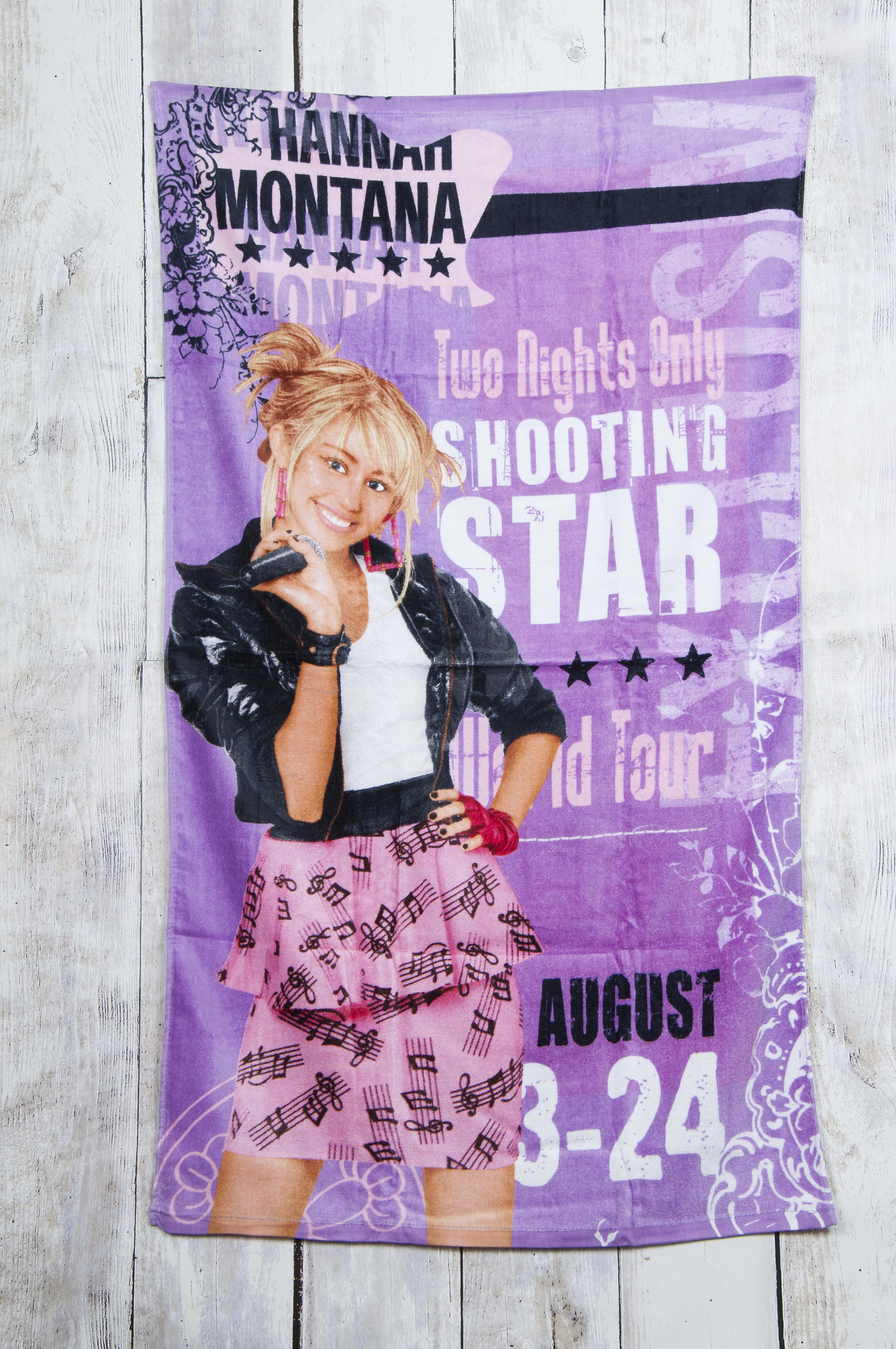Children/Kids Official Disney Hannah Montana 100% Cotton Beach Pictorial Towel