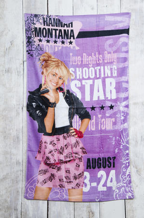 Children/Kids Official Disney Hannah Montana 100% Cotton Beach Pictorial Towel