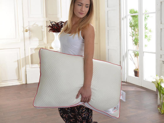Breathable Health Down Pillows with Pillowcases Thumbnail 2