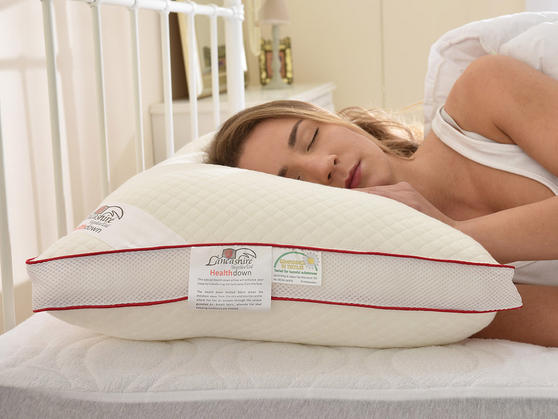 Breathable Health Down Pillows with Pillowcases Thumbnail 3