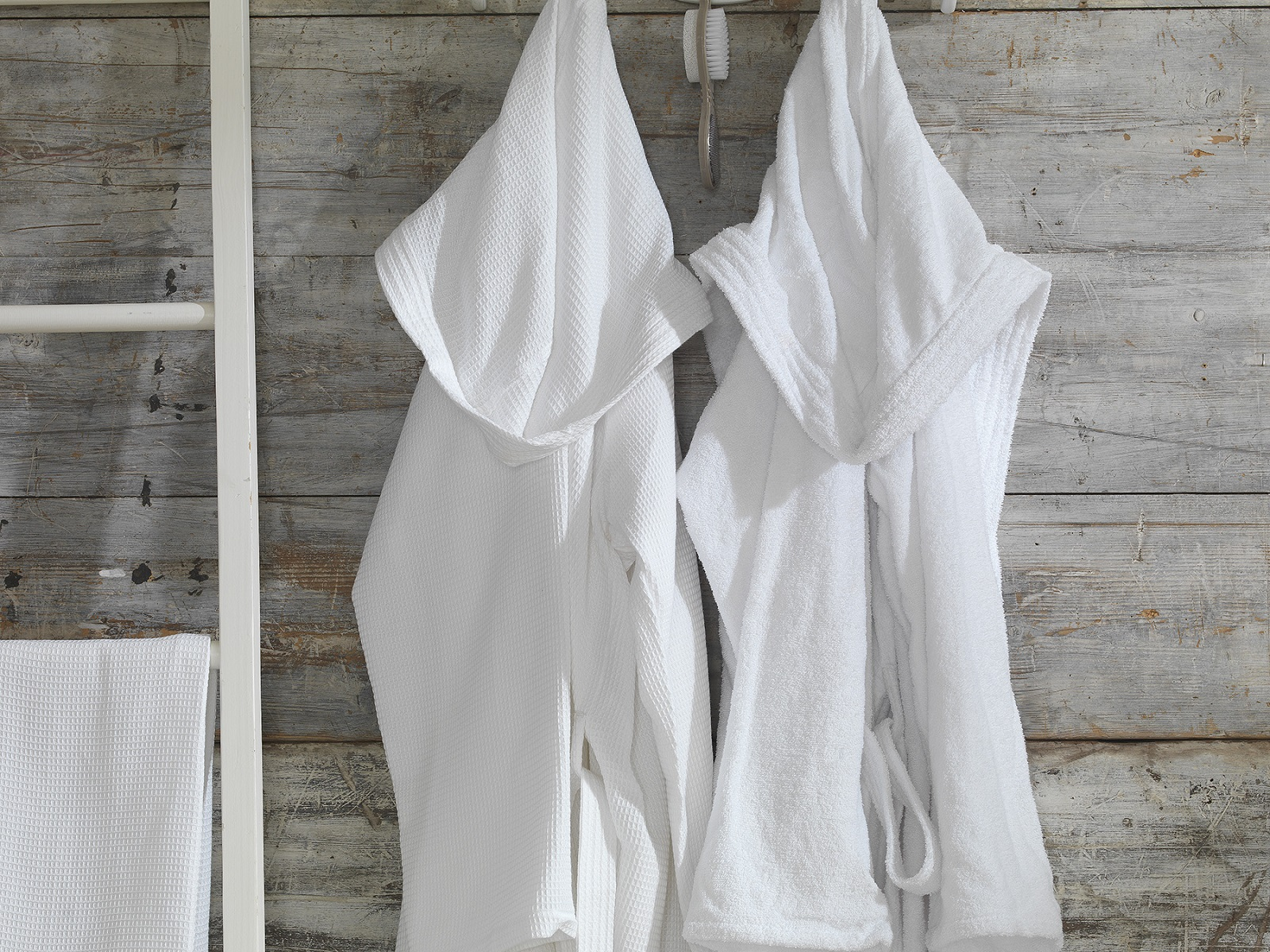 Premium Collection - Lightweight Unisex Terry Towelling Bath Robes