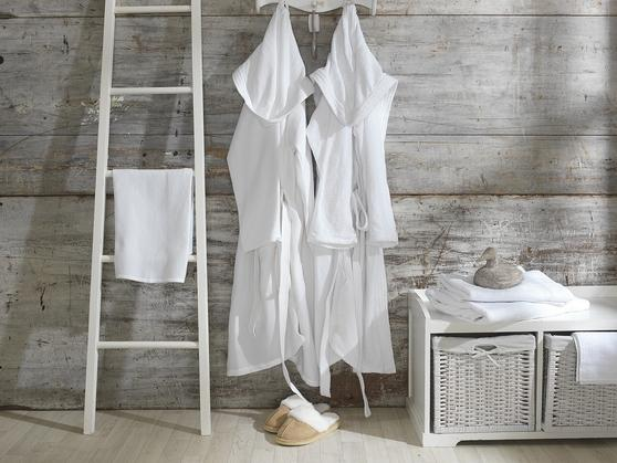 Premium Collection - Lightweight Unisex Terry Towelling Bath Robes Thumbnail 3