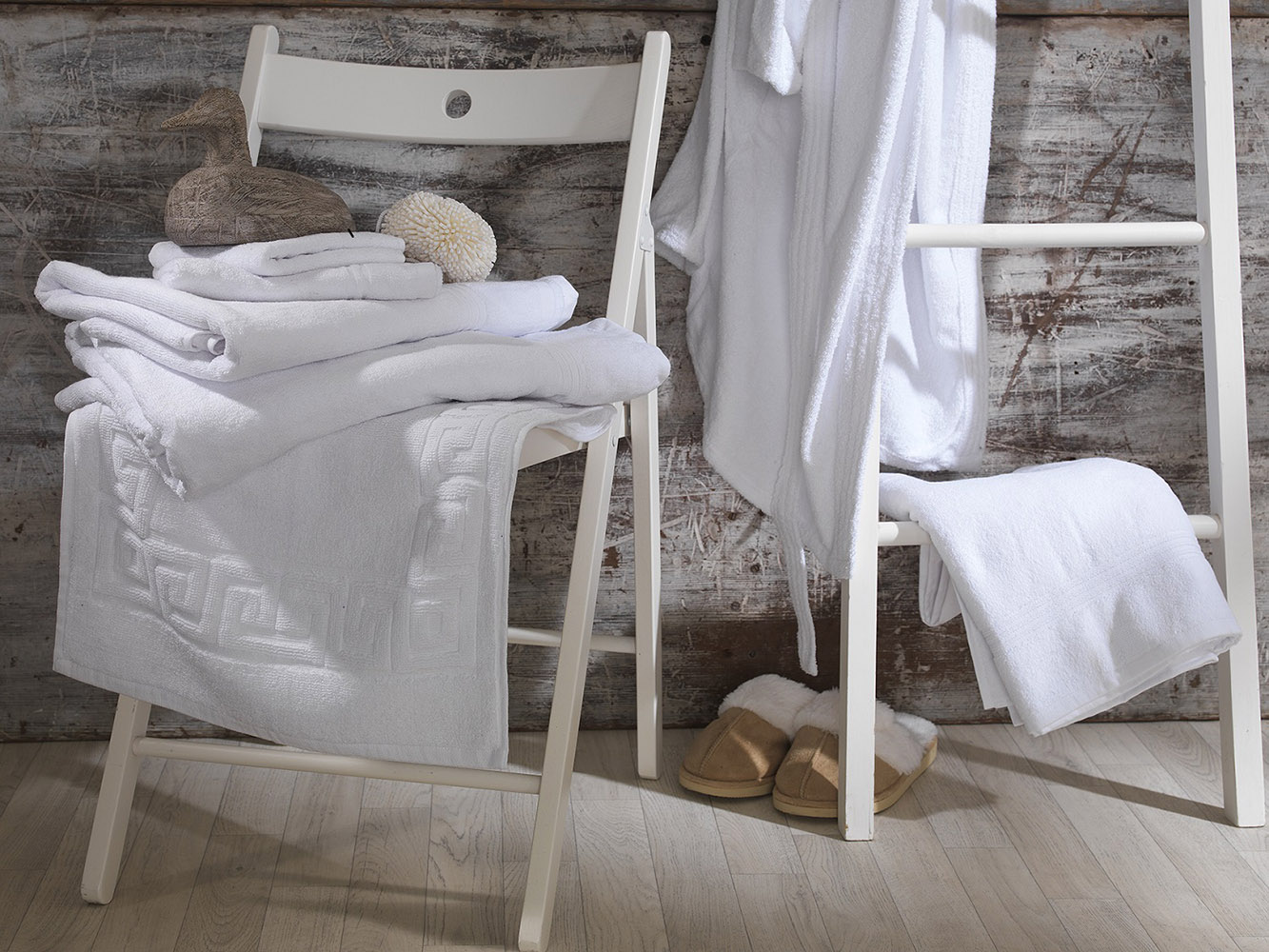 Premium Collection - Hotel Quality 100% Cotton Terry Towelling Ribbed Towels