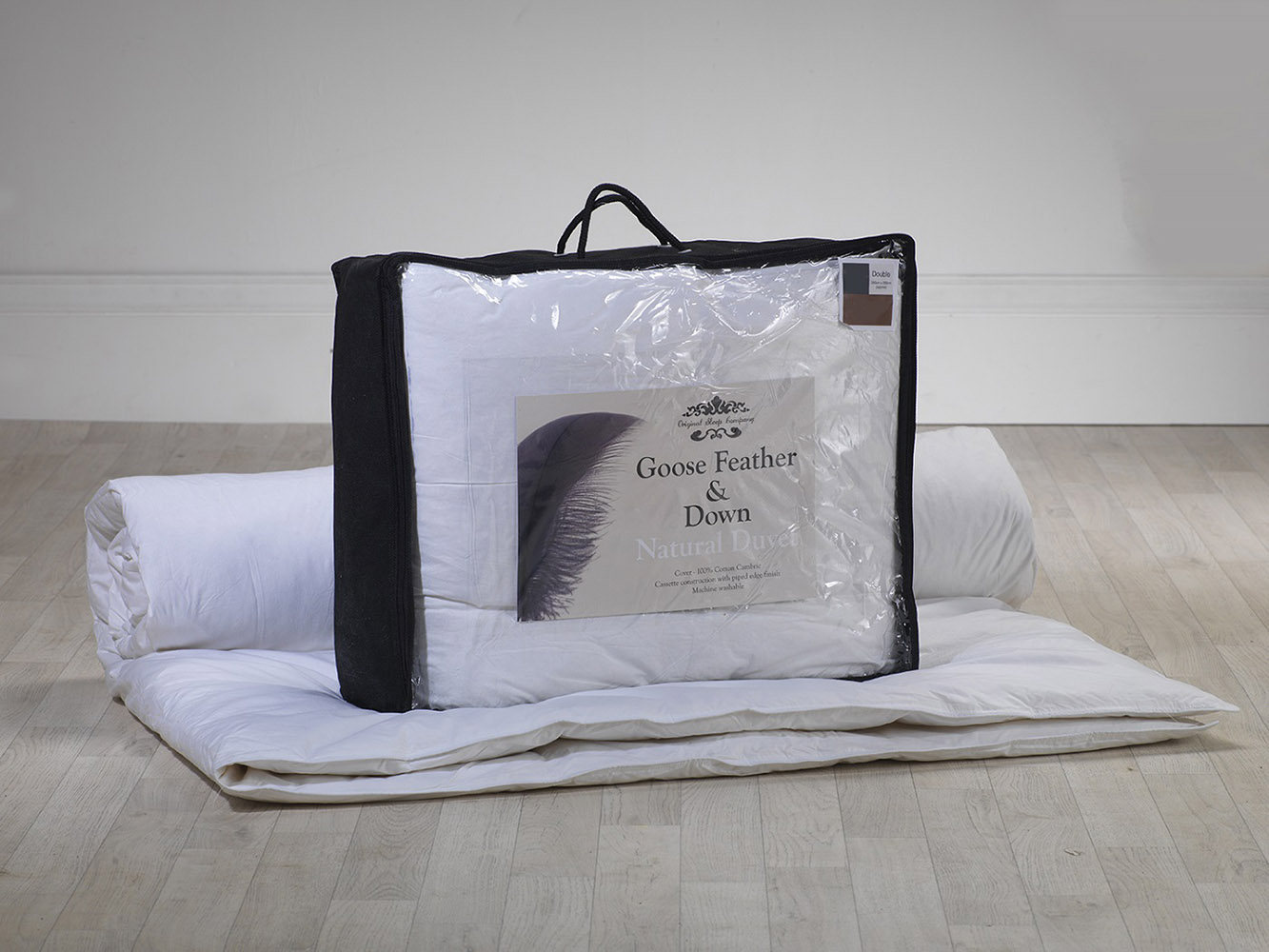 10.5 Tog - Goose Feather and Down Duvet