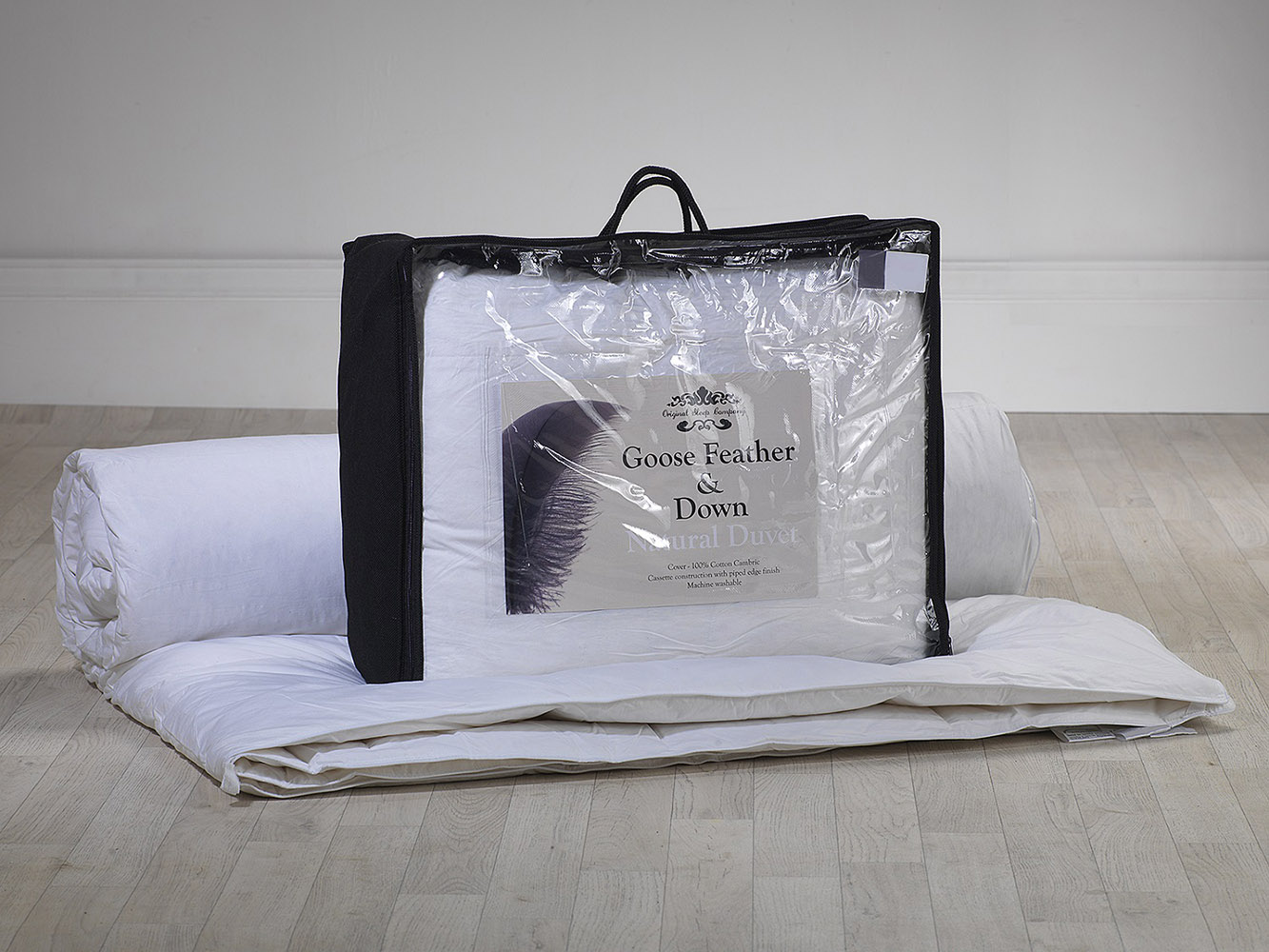 4.5 & 9.5 Tog - Goose Feather and Down All Seasons Duvet