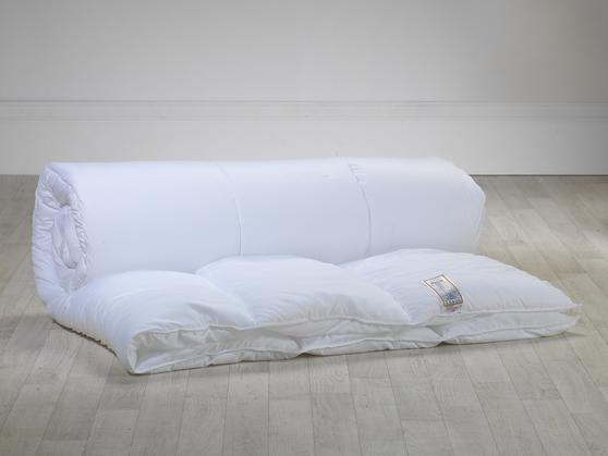 Slight Second - Pure White 13.5 Tog Microfibre Duvet Thumbnail 2
