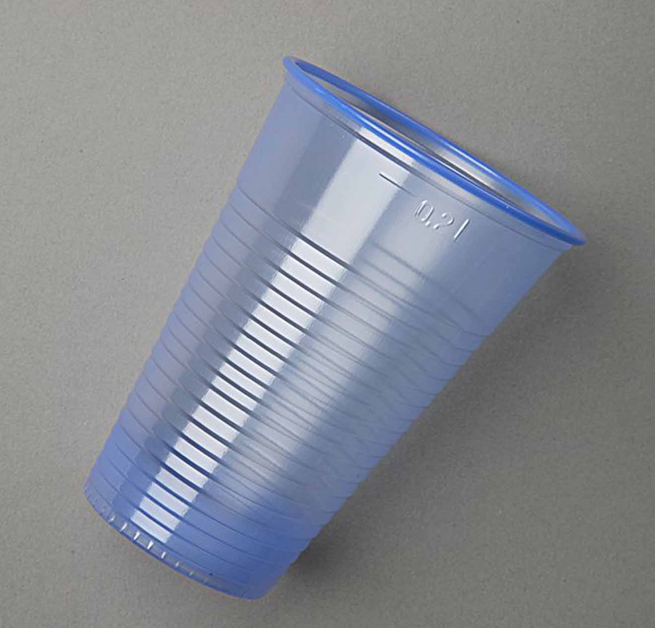 1000 Blue Plastic Cups Glasses Water Cooler Vending 8oz