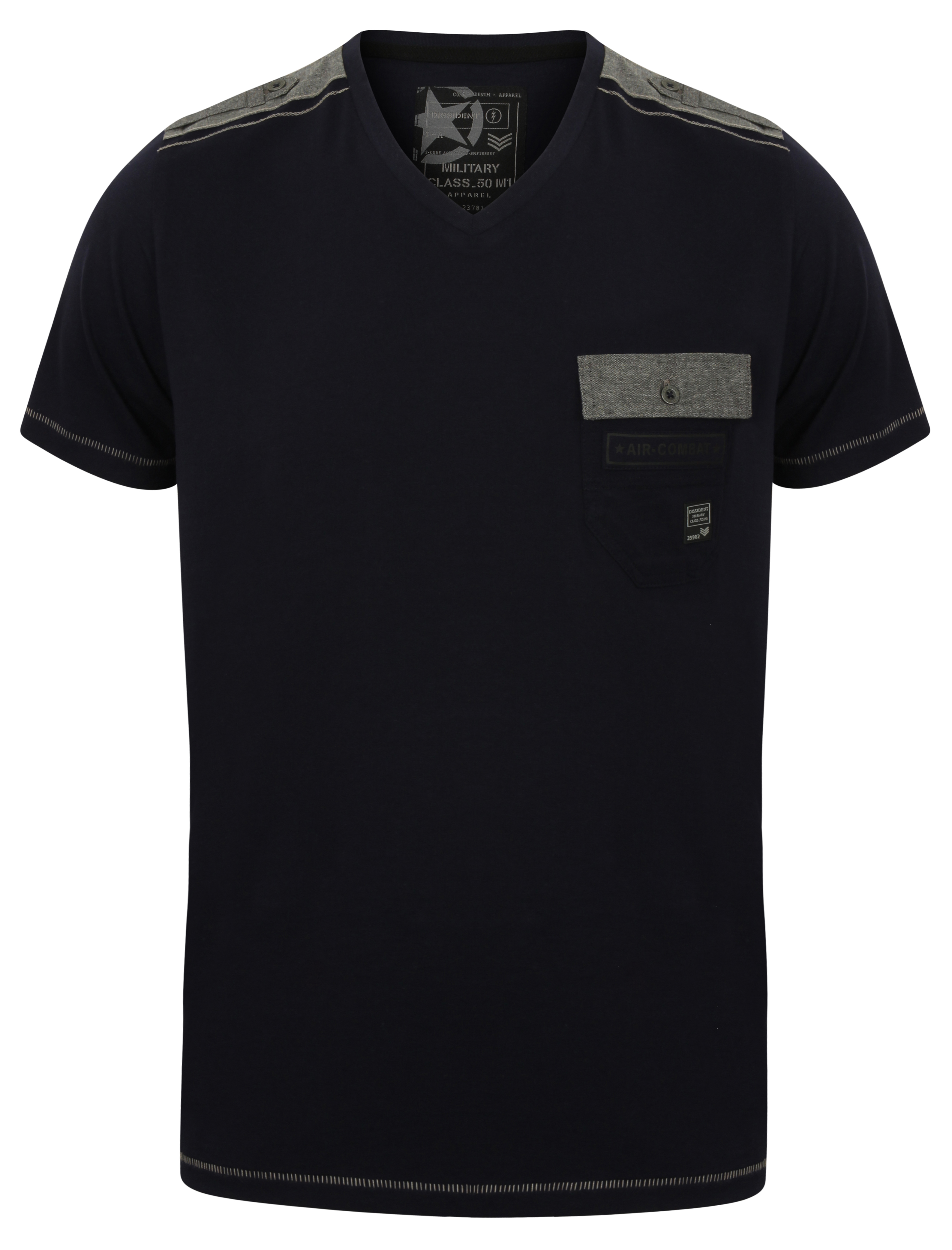 37681863de01 Mens Dissident T-Shirt Cotton Mix Designer Tee Shirt Casual Top | eBay