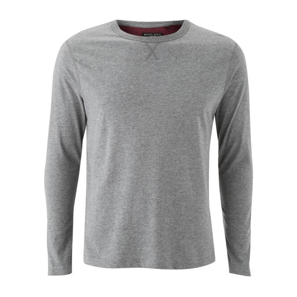 cd3aa83d71d8 Mens Brave Soul Osbourne & Prague Long Sleeve Top T-shirt | FOR HIM ...