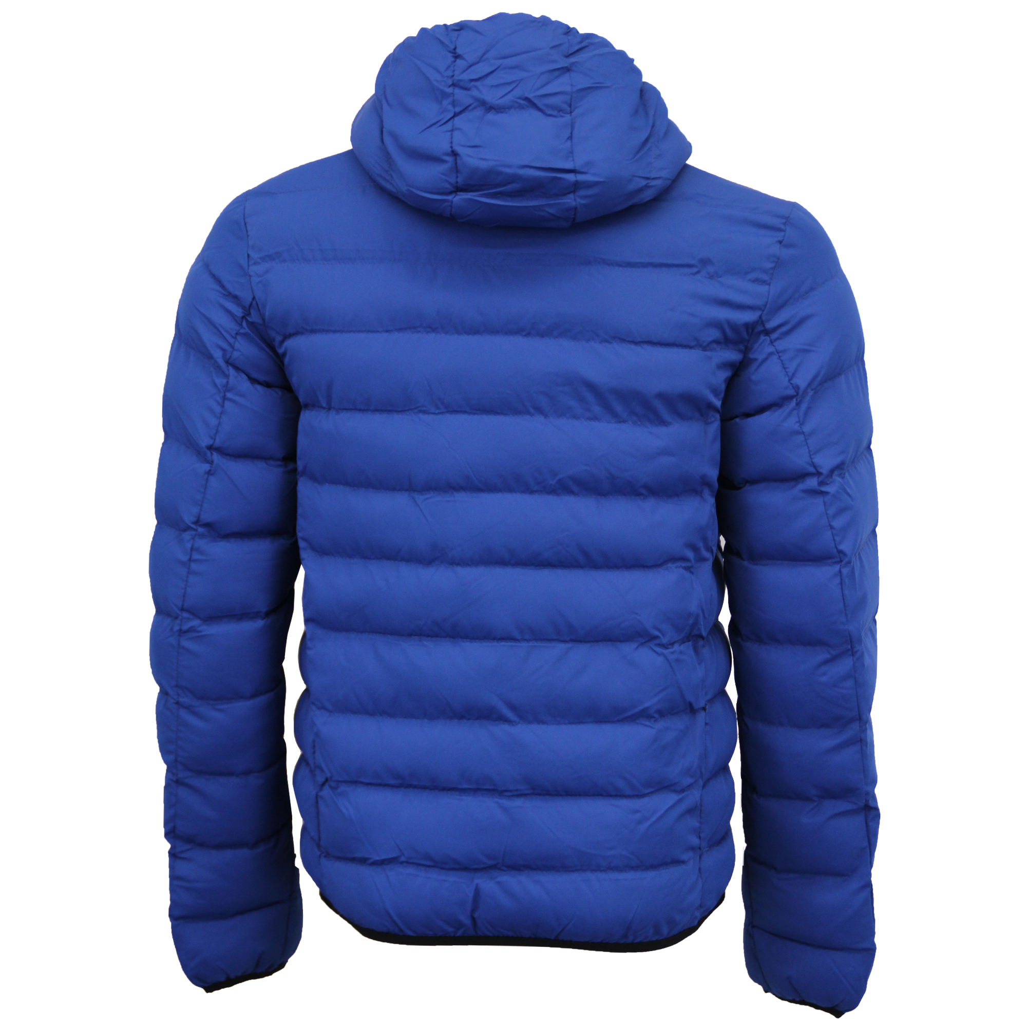 Mens Bubble Coat Hooded Quilted Plain Padded Puffer Jacket ...