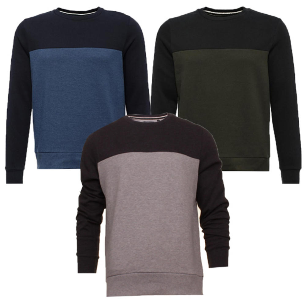 Soul Block Neck Top Crew Sweatshirt Mens Brave Vinnie Sweat Stripe qawtw51