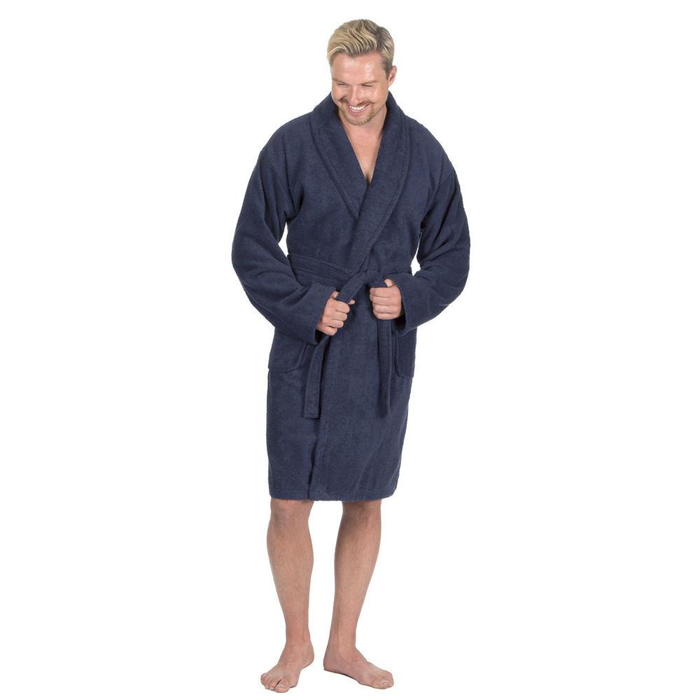 Mens Pierre Roche Luxury 100% Cotton Soft Terry Bath Spa Robe Dressing Gown  Thumbnail 3. Next d652582d6