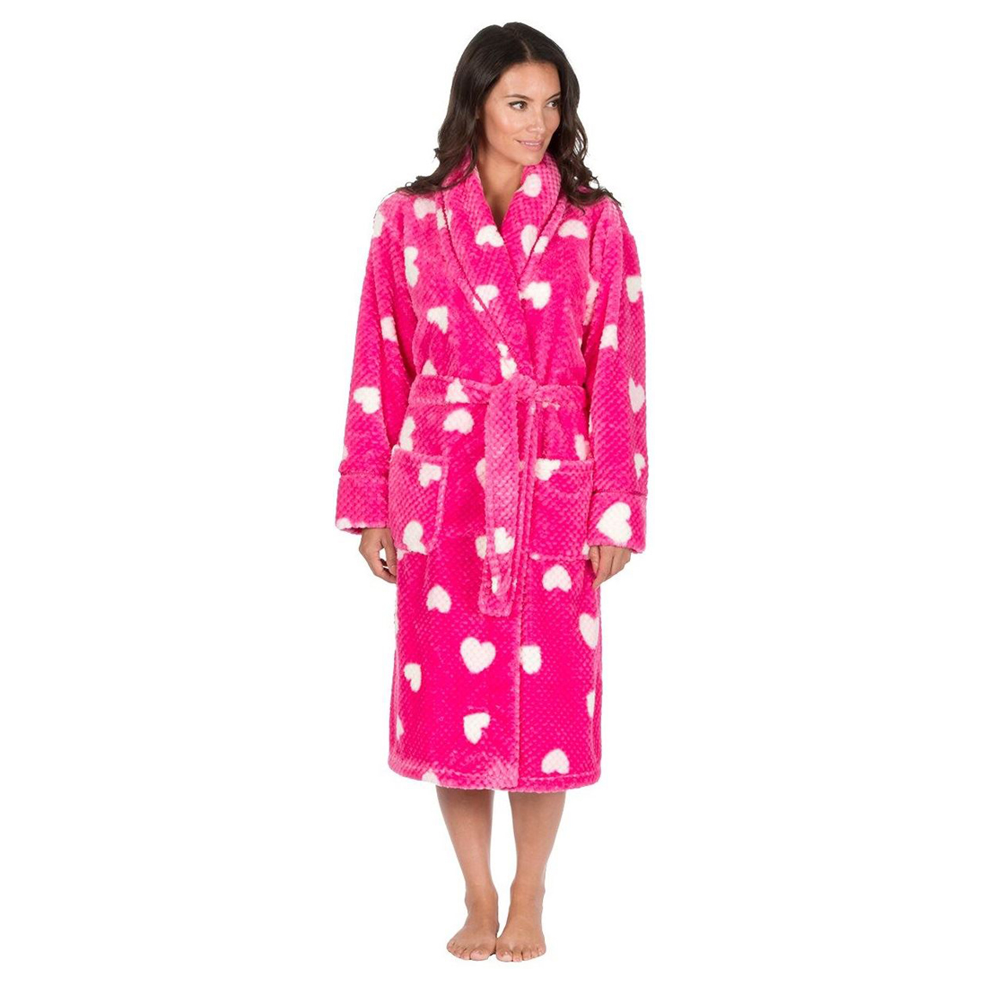 Nice Dark Pink Dressing Gown Gift - Images for wedding gown ideas ...