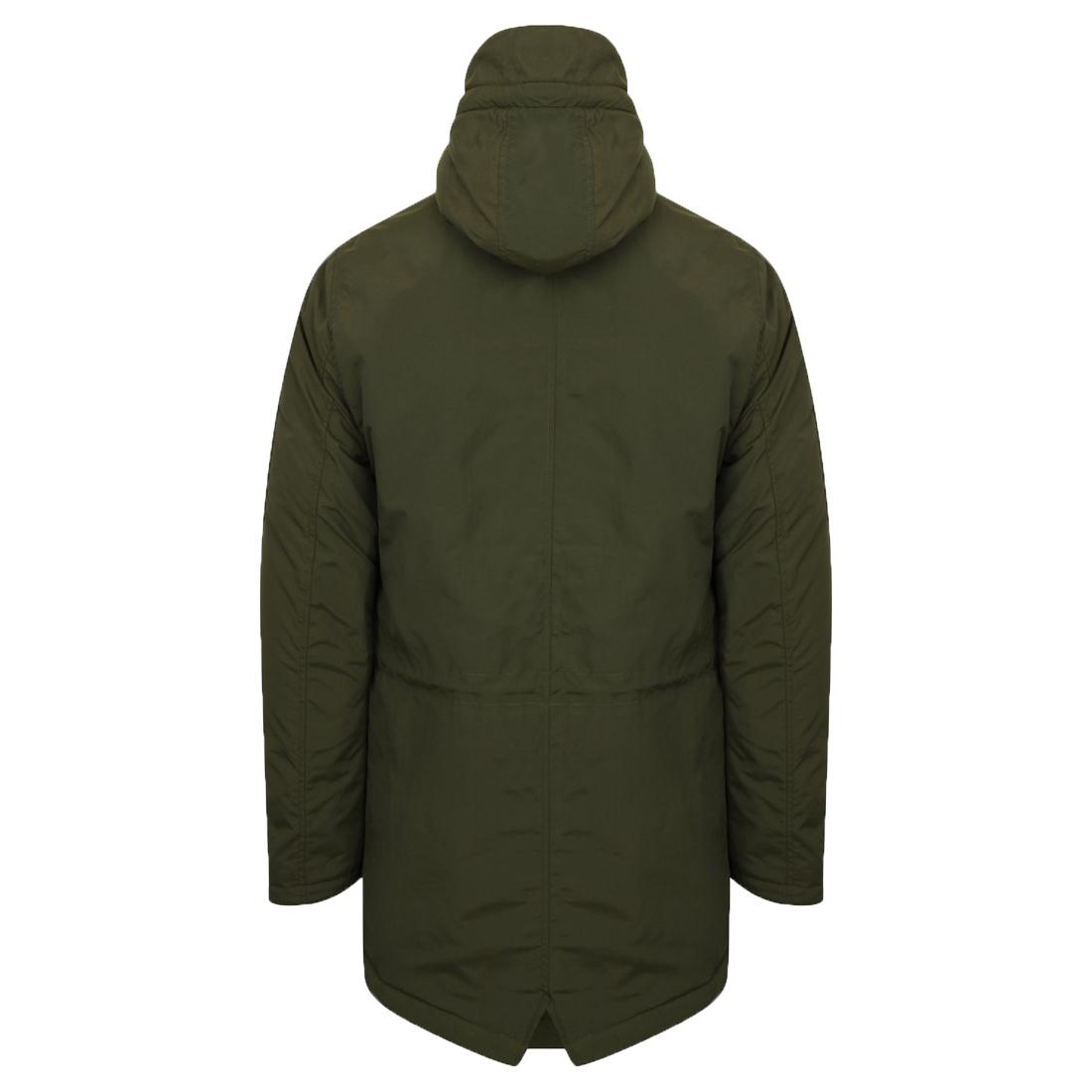 Mens Winter Coat Army Style Fishtail Parka Jacket Mod By Tokyo ...