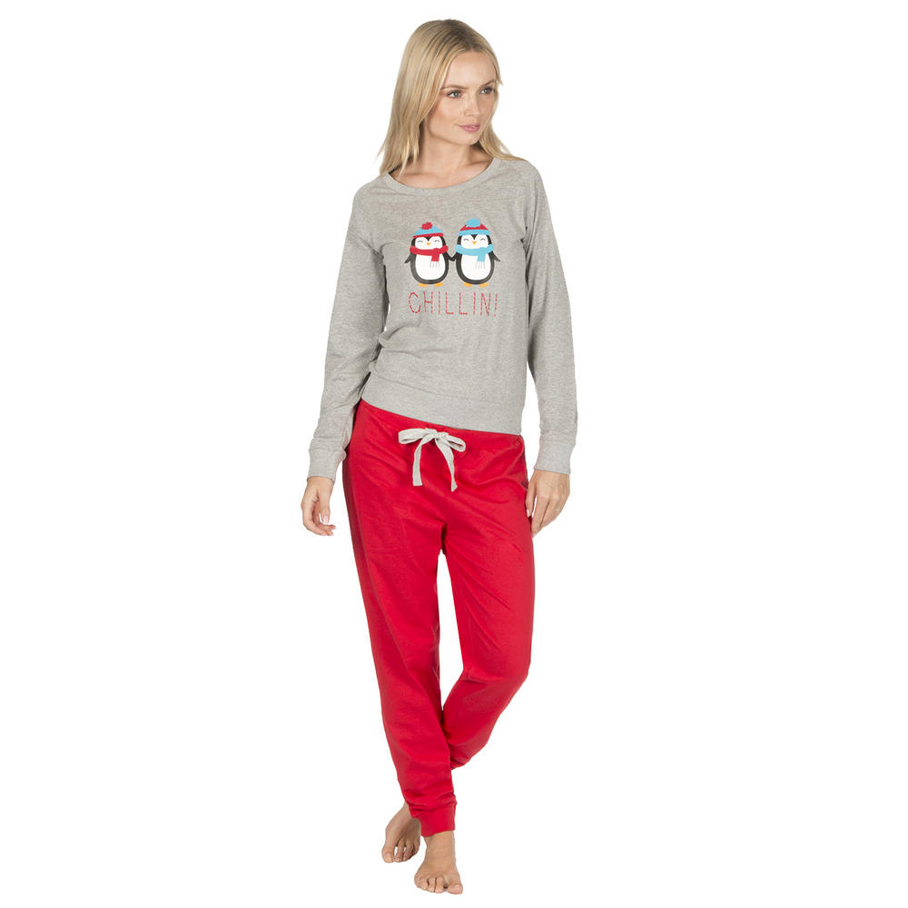 7546e45adb Ladies Forever Dreaming Novelty Soft Warm Micro Fleece PJ Animal Pyjama  Twosie Thumbnail 3. Next