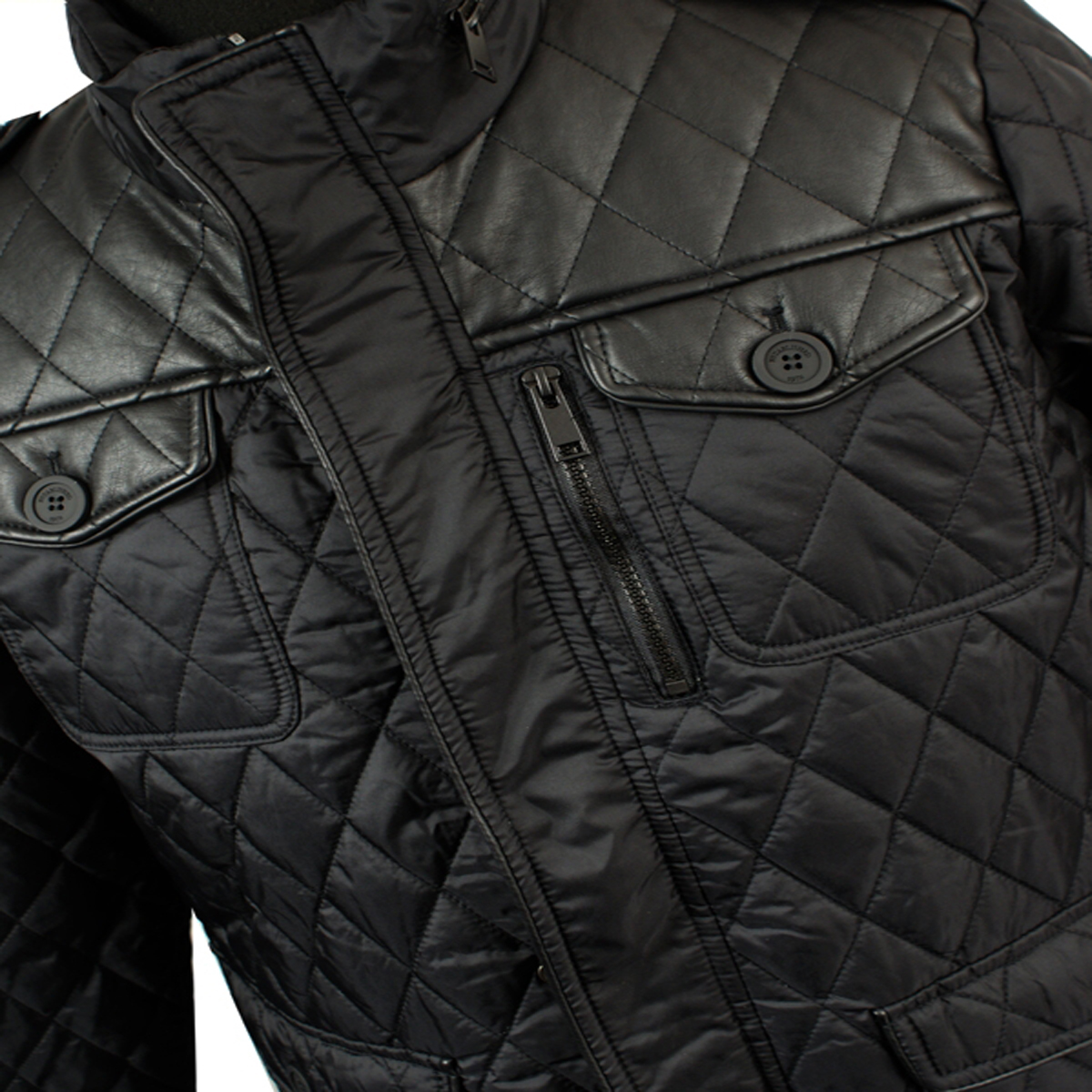It is an image of Bright Brave Soul Black Label Wool Coat