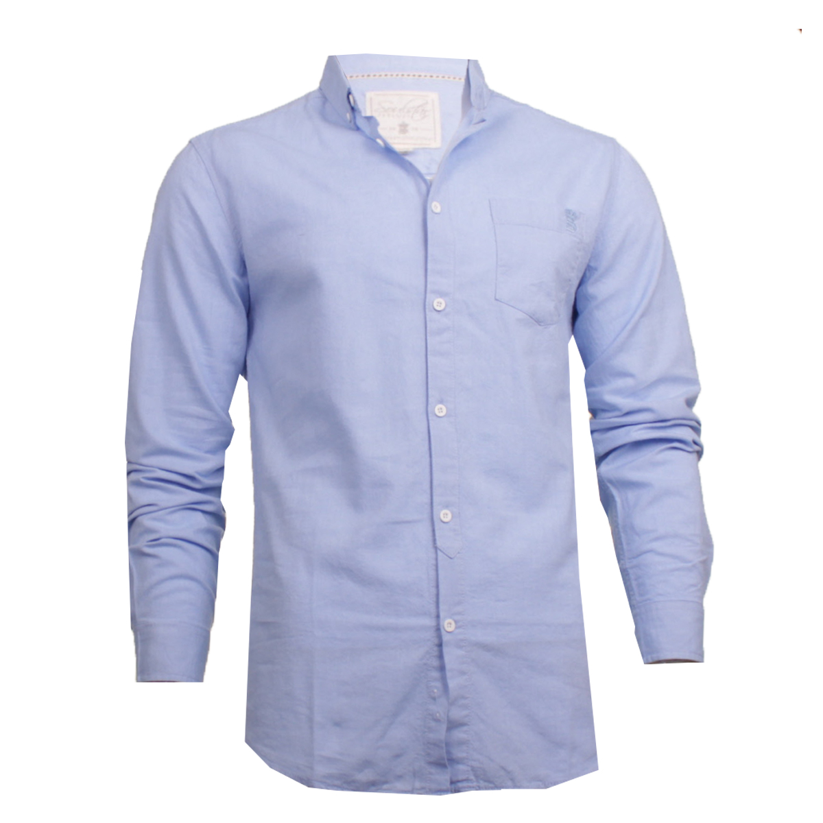 ec0a98f374a3 Sentinel Mens Soul Star Long Sleeve Oxford Button Down Collar Summer Casual  Shirt Pastel