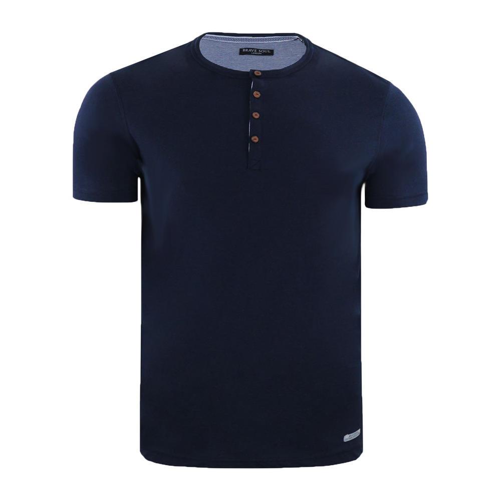 104fed1d747 Mens Brave Soul Petrak Saladin Quartz T Shirt Casual Top. Previous