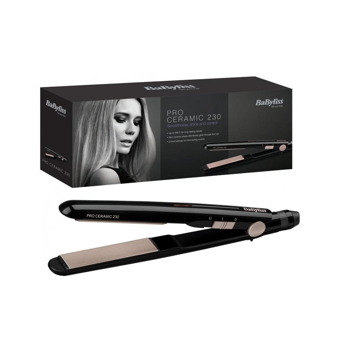 Details about Brand New Ladies BABYLISS 2069U Pro Ceramic 230 Hair Straightener