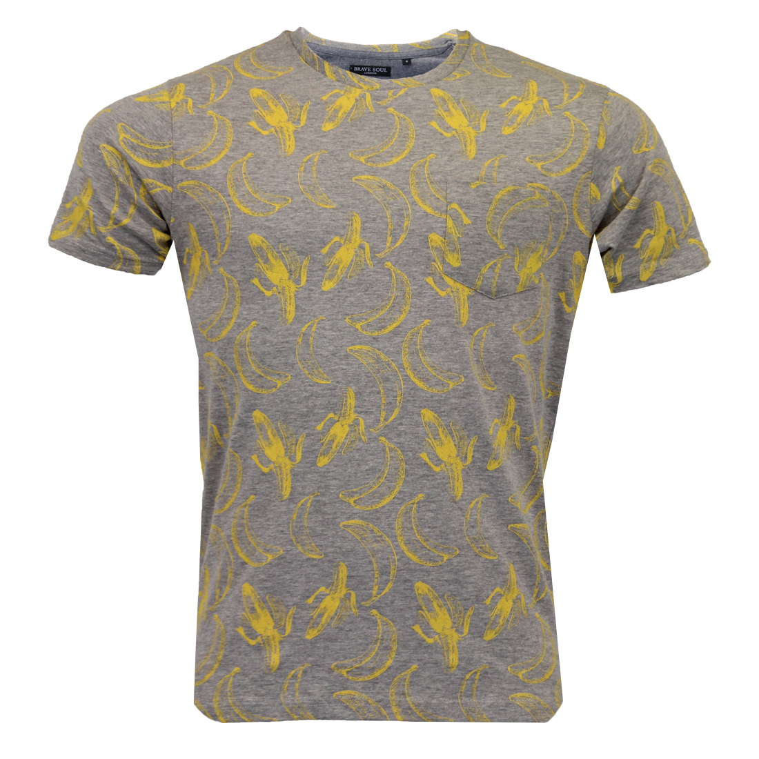 Mens Brave Soul Photo Print T Shirts Graphic Or Plain