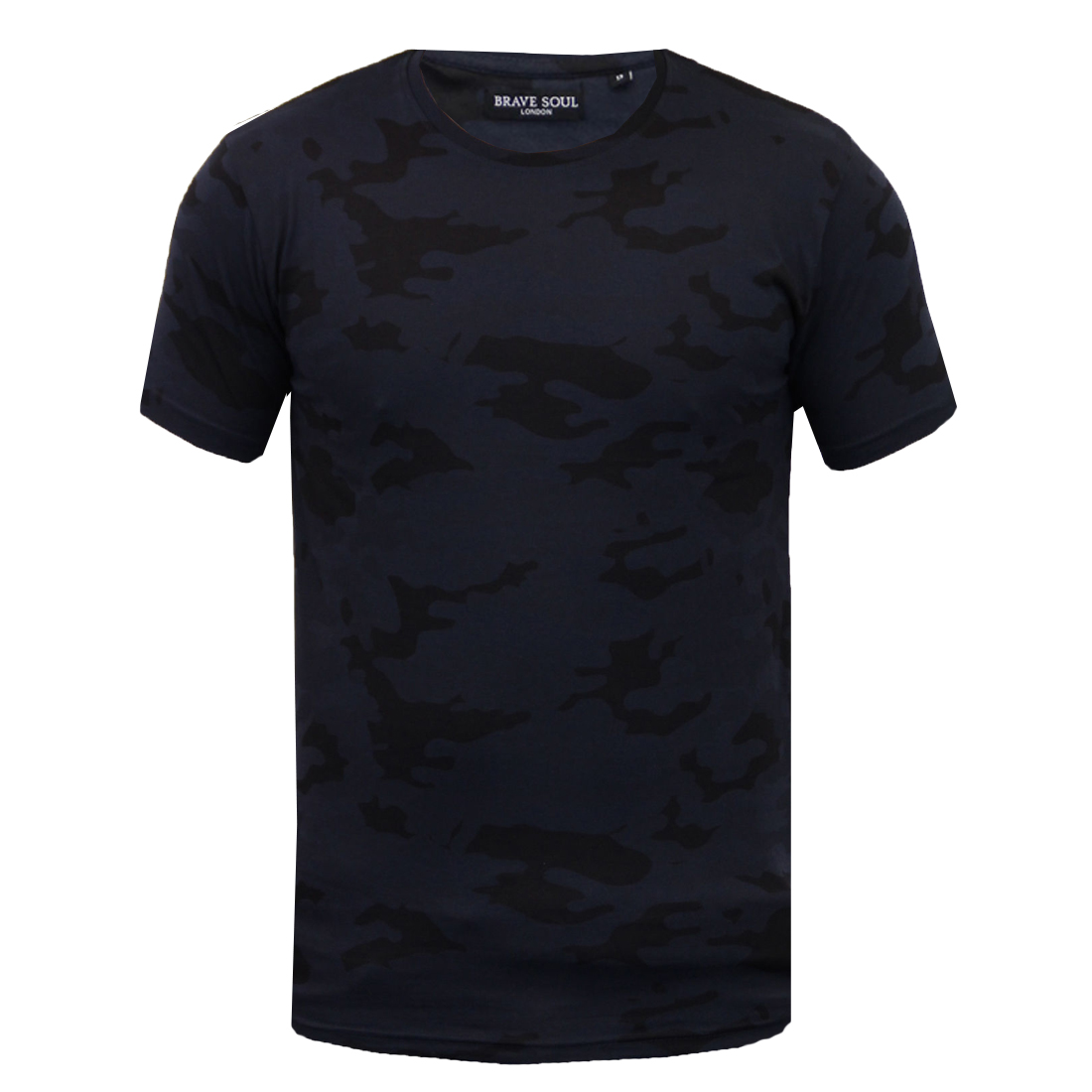 Men s 100% Cotton T-Shirt Military Camo Camouflage Tee Top By Brave Soul c814e84fb1
