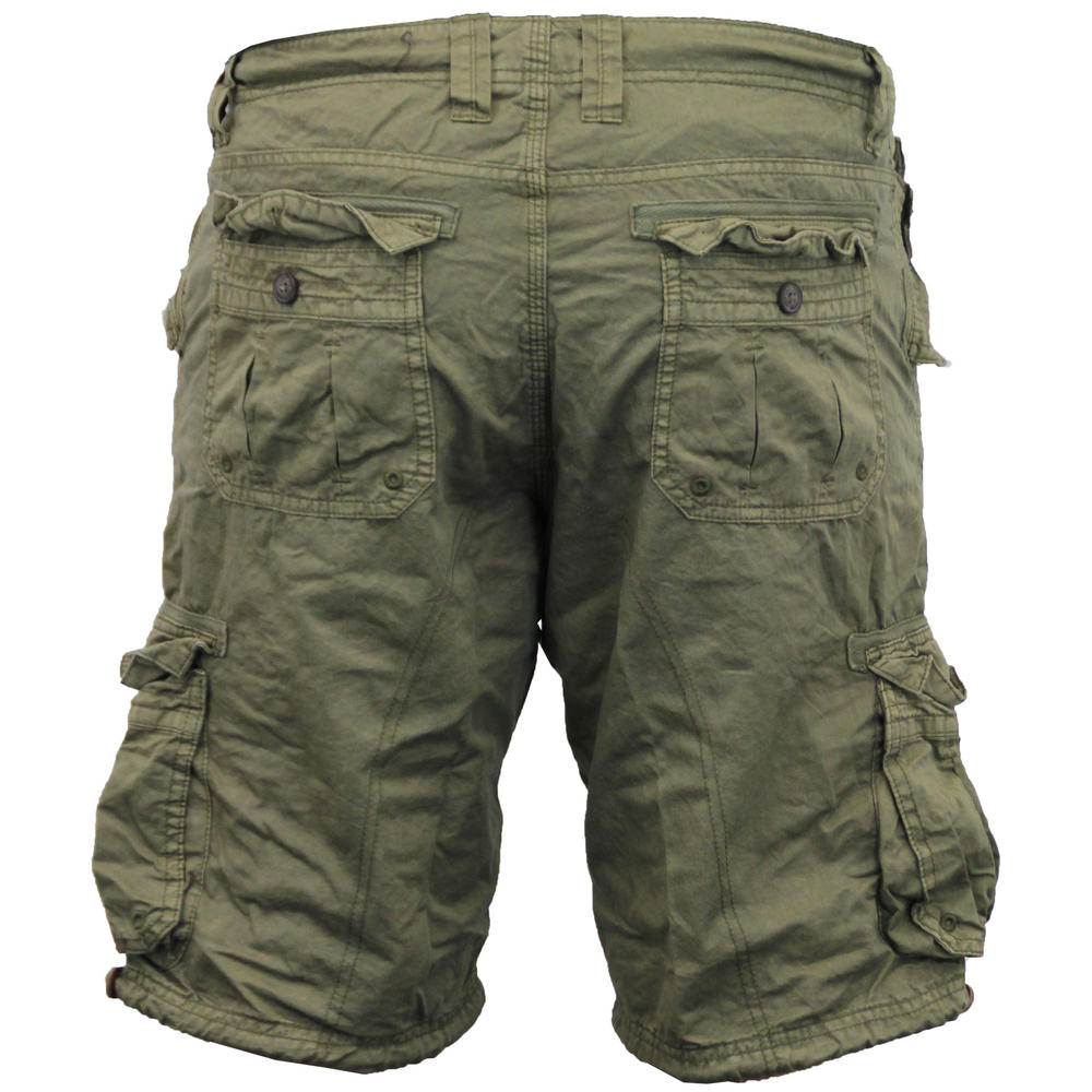 8a334970489 Men s Brave Soul George Cargo Utility Hiking Short Cotton Twill ...