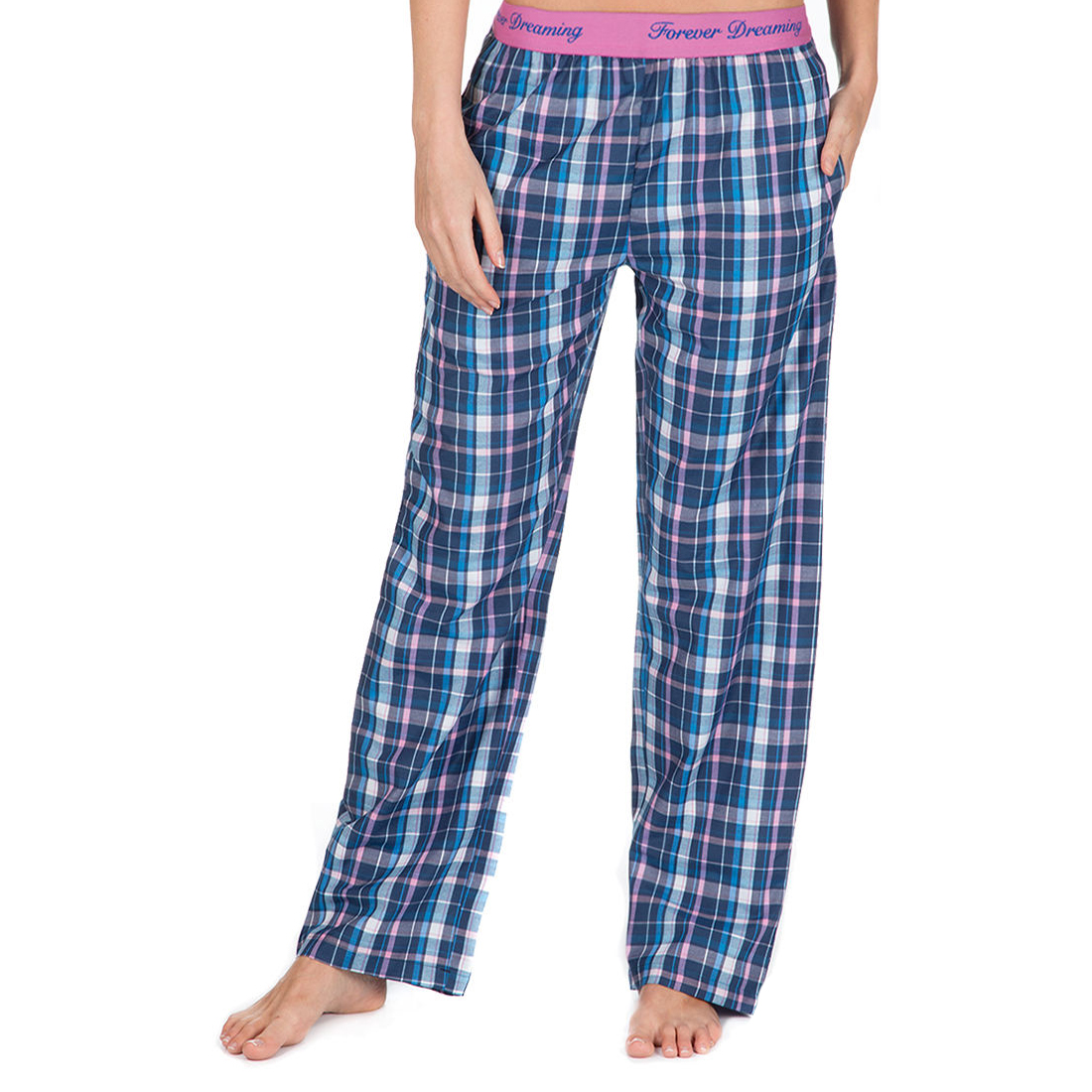 Women's Clothing Bottoms Checkered PJ Pants Forever Dreaming Ladies Pyjama Bottoms
