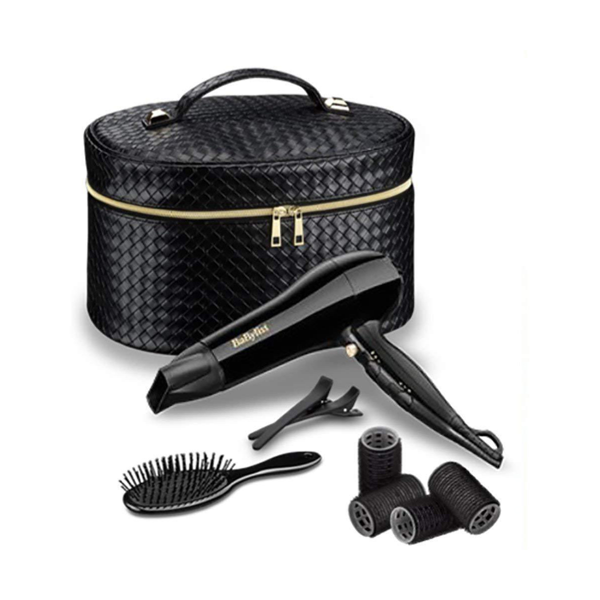 BABYLISS MOTHERS DAY GIFT SET STYLING HAIR DRYER ACCESSORY /& VANITY CASE SHH5737